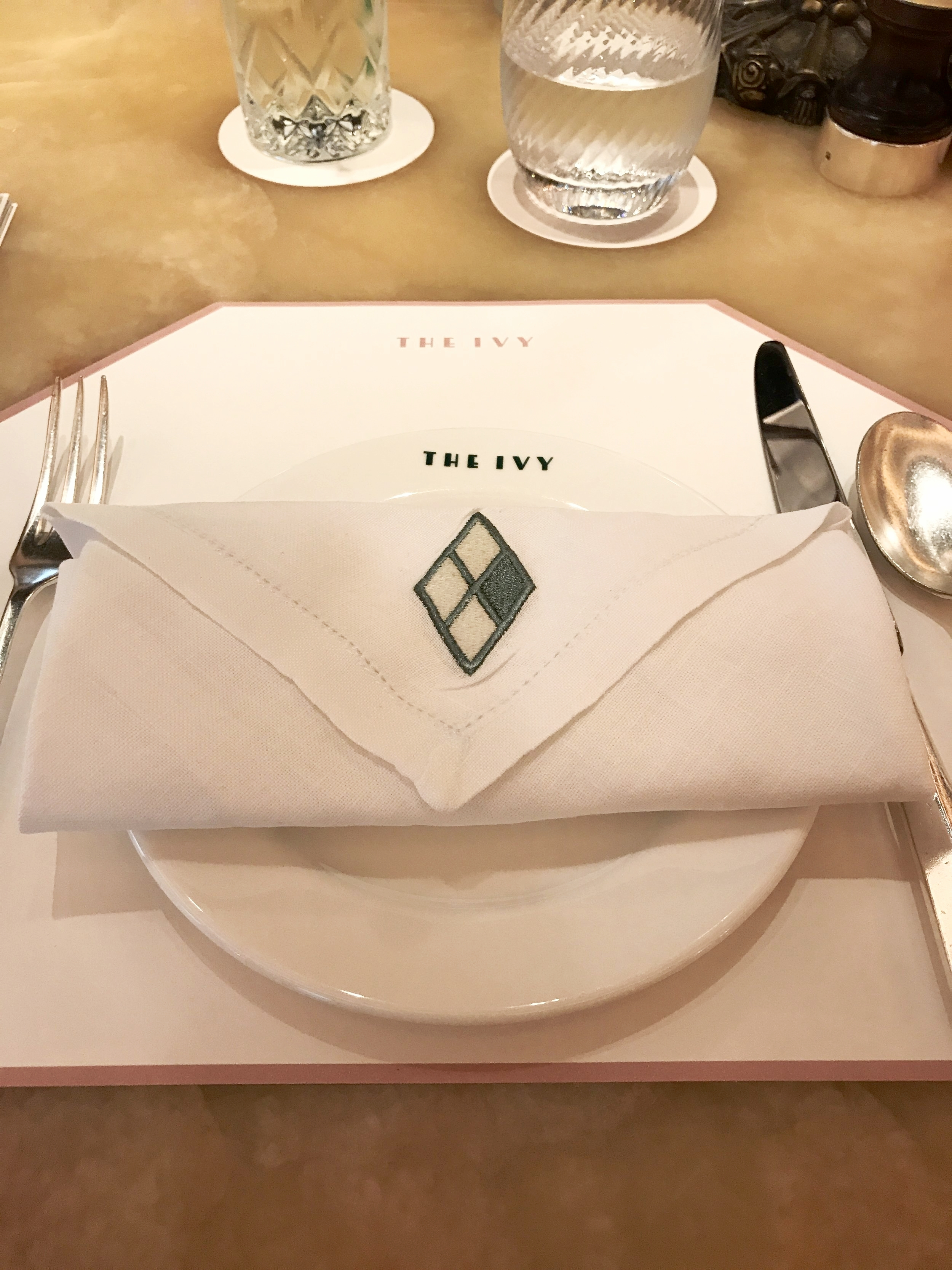 The Ivy Table Setting