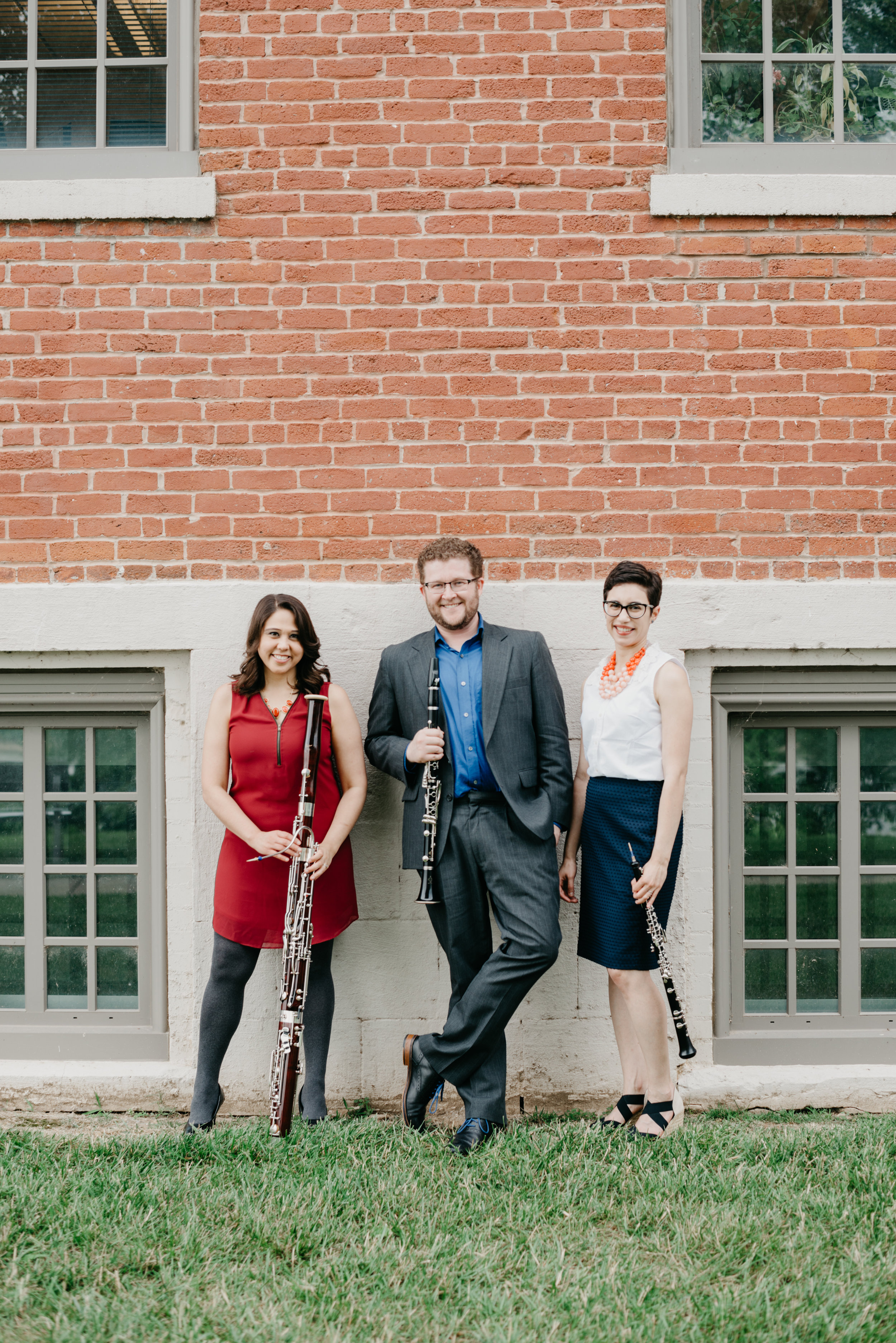 Driftless Winds Reed Trio: Jacqui, Corey, and Galit