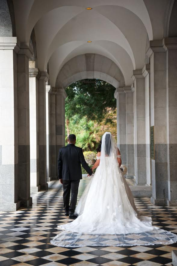 Sacramento Wedding | Dress: Justin Alexander customized by Bride To Be Couture | Photography:  Waves Studio