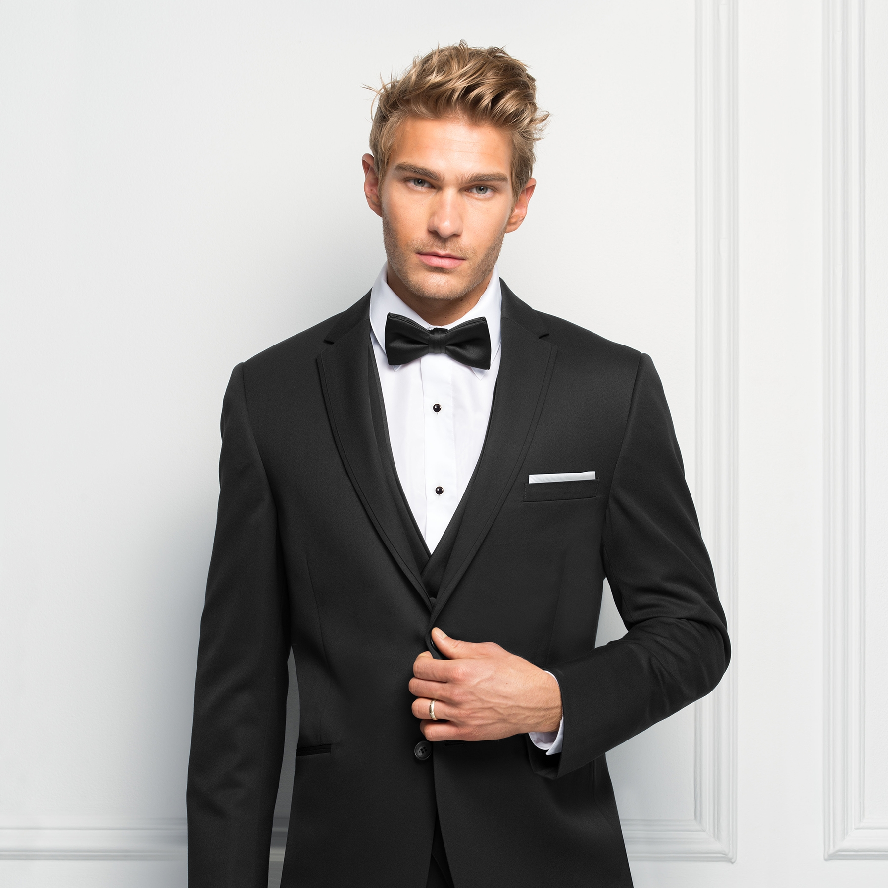 TUXEDOS - With on-trend Ultra Slim Cuts and modern colors, our rentals have your groom's style covered.