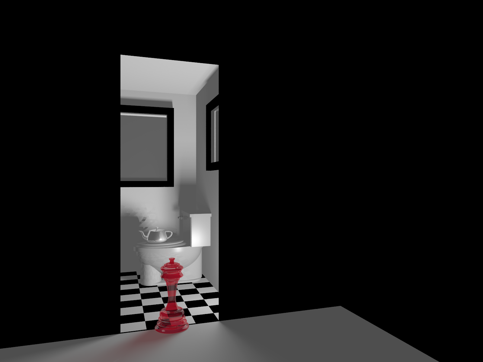 Raytraced Toilet