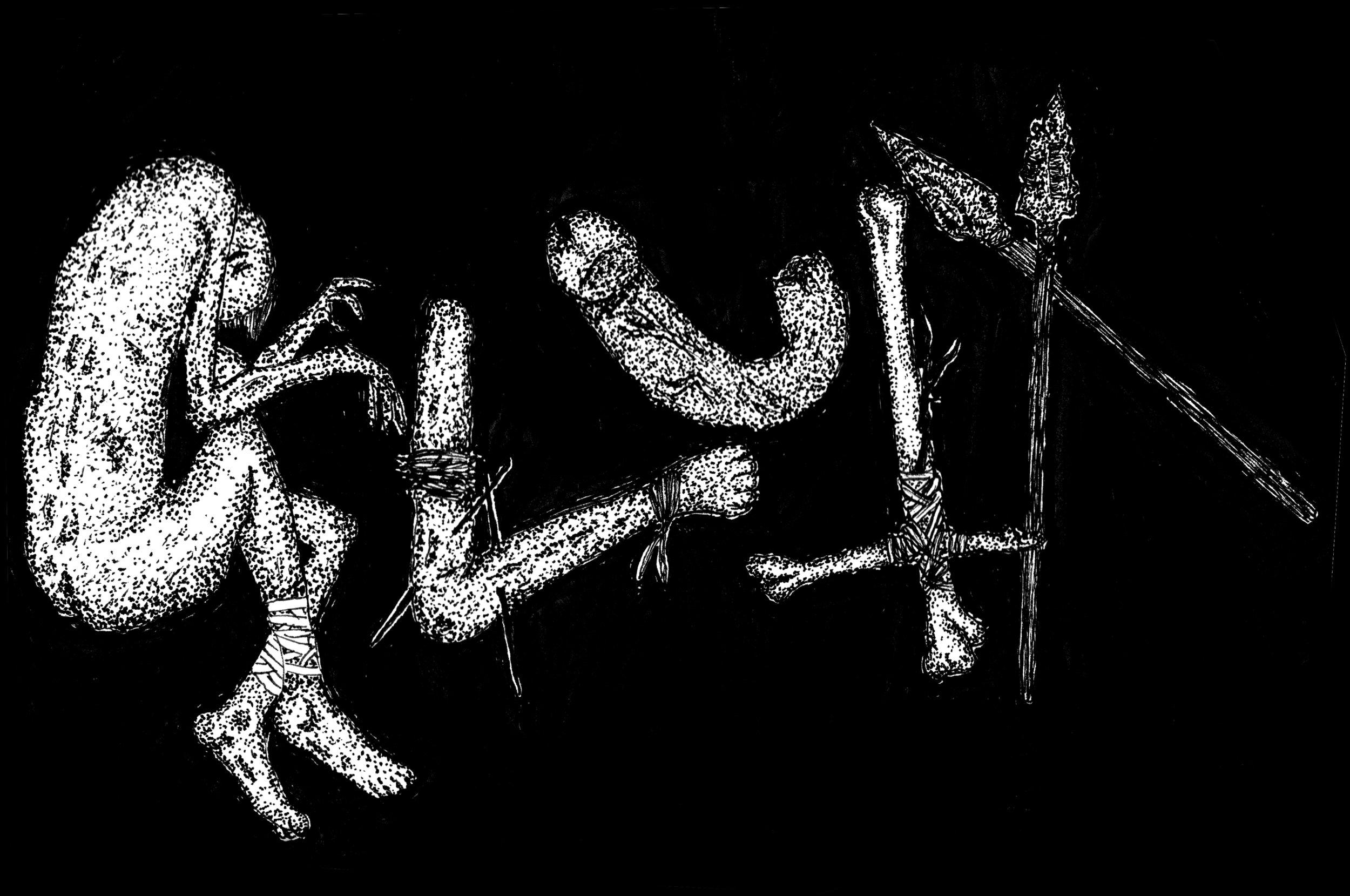 Glutt logo, 2017.  Listen.