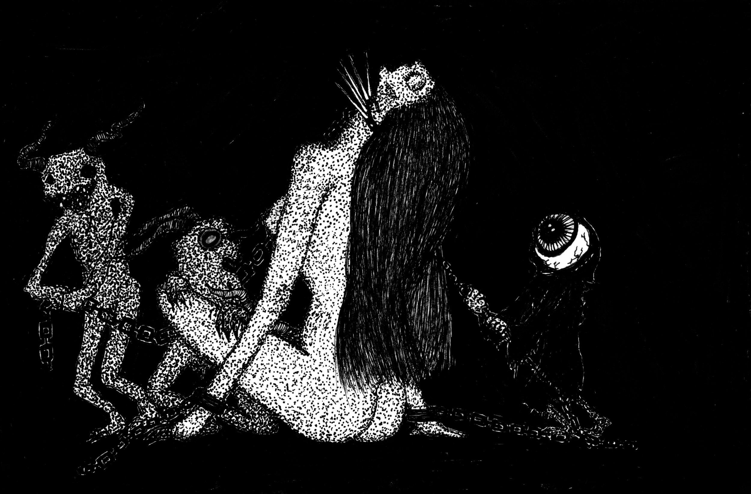 Desciples of Lilith Licking Rites Unto Virgin Flesh