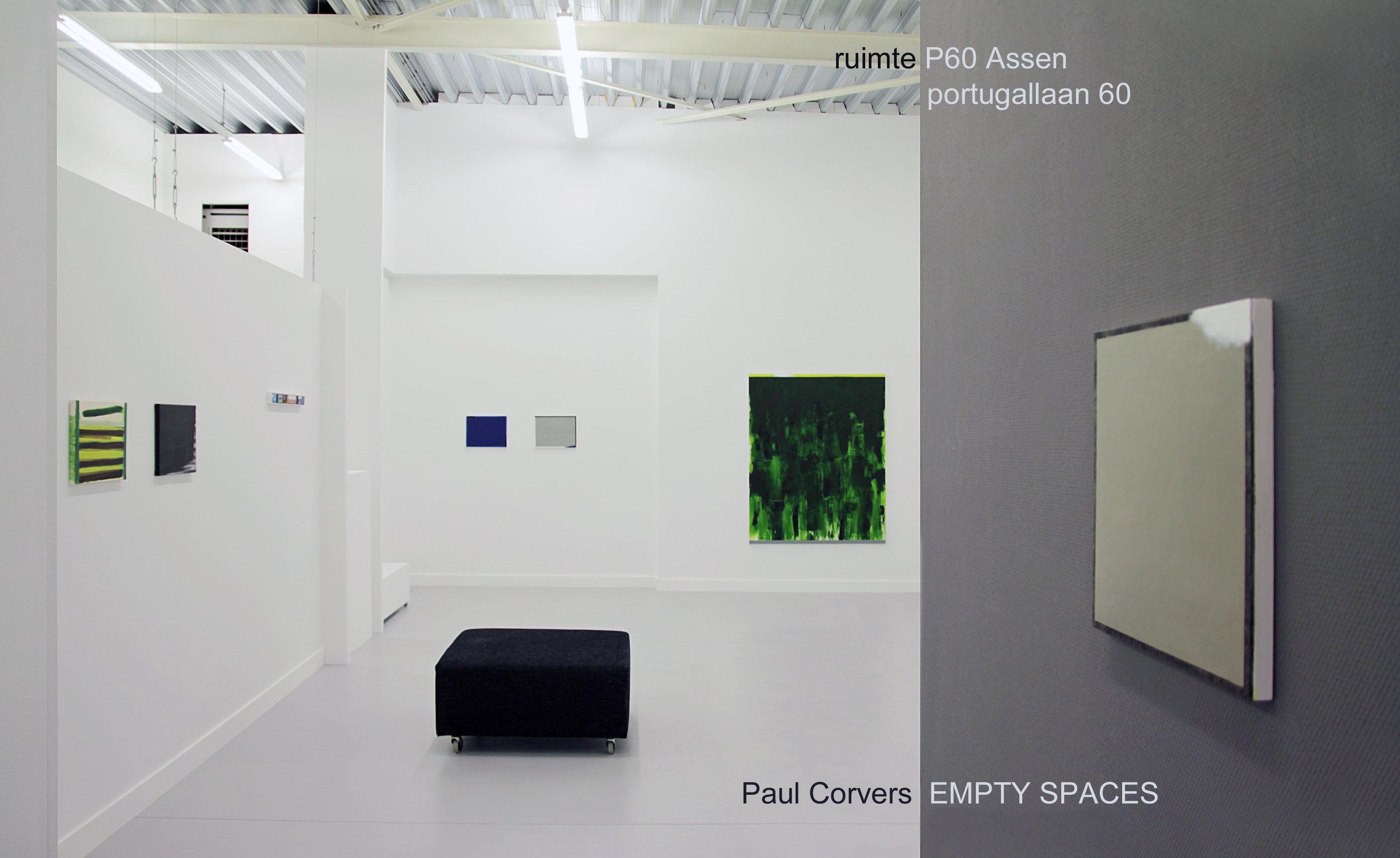 PAUL CORVERS  EMPTY SPACES 2016 november