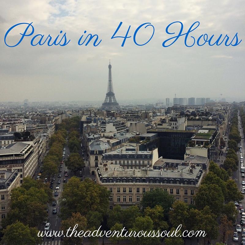 paris in 40 hours