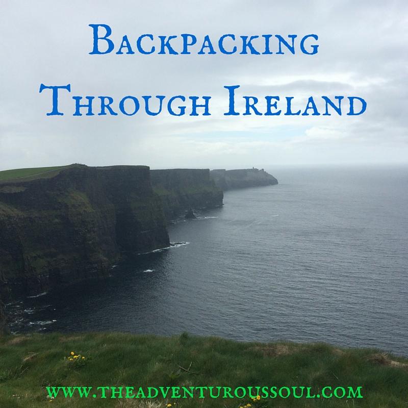 backpacking through ireland