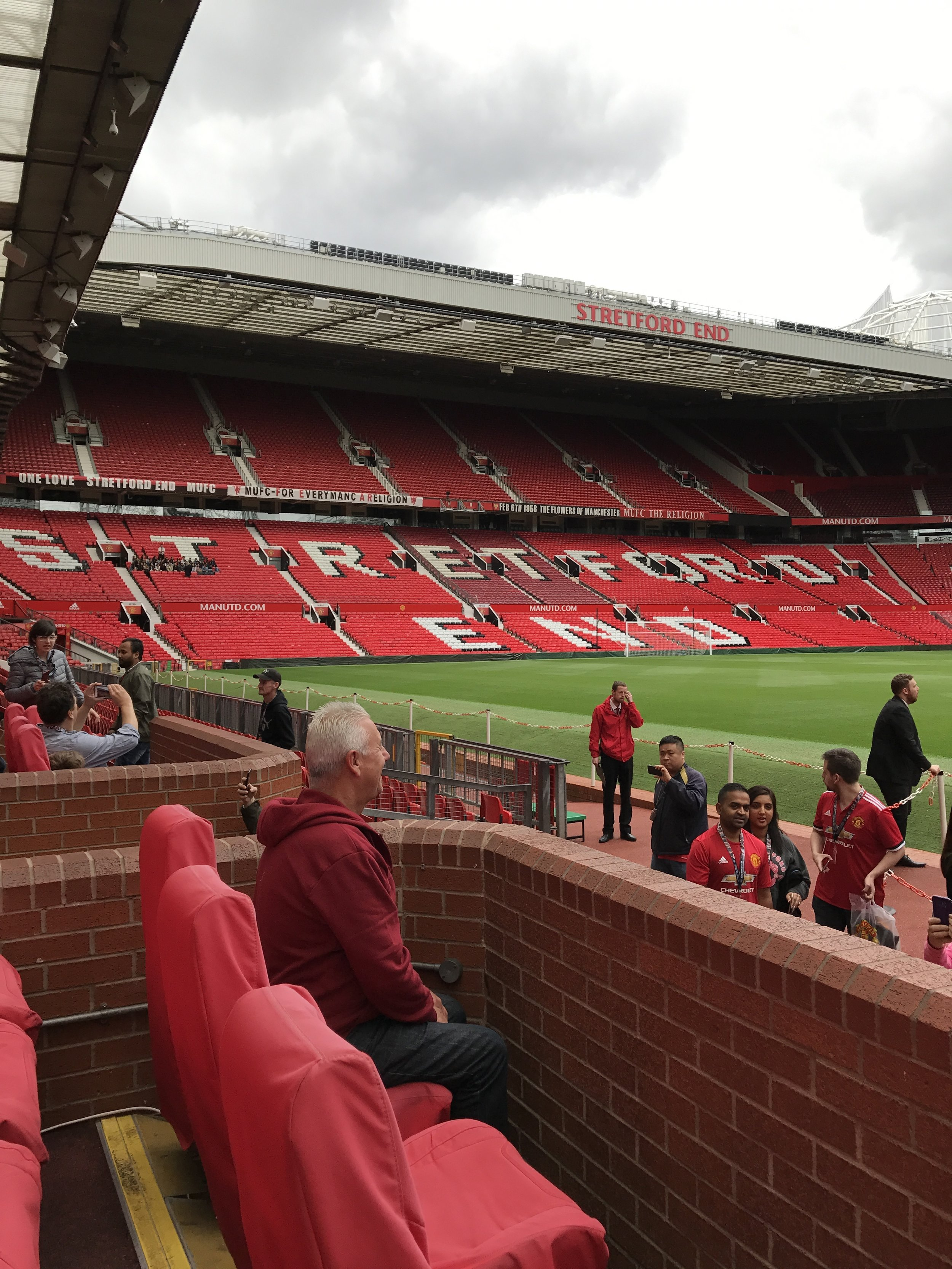 One day, I'll be raising hell with my fellow MU fans in Stretford End