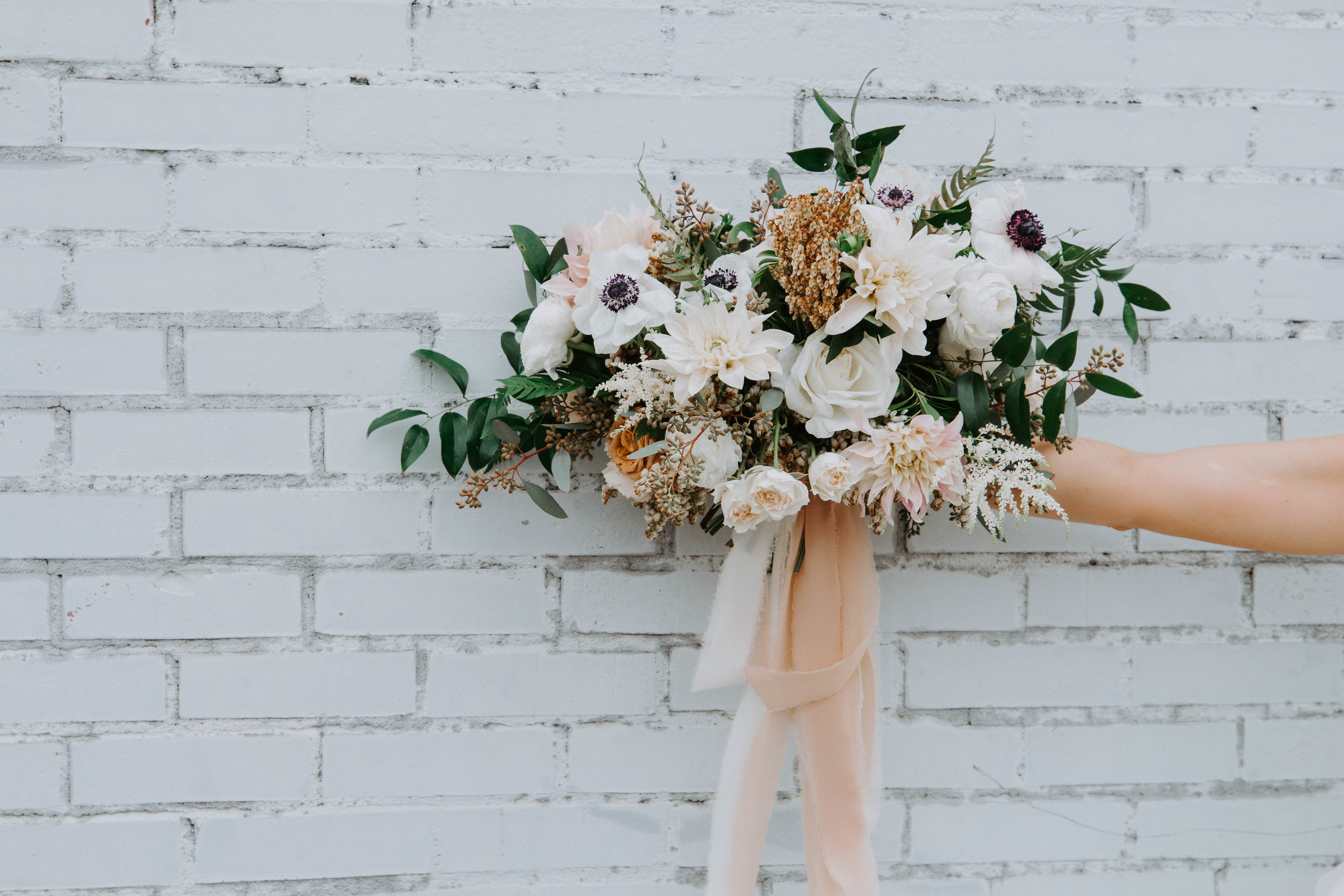 Dylan + Keri - The perfect mix between boho and modern. Keri + Dylan celebrate at The Glass Factory in Jacksonville, Florida.