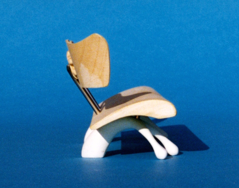 Vivare Bench, a model shortlisted for The Natural History Museum