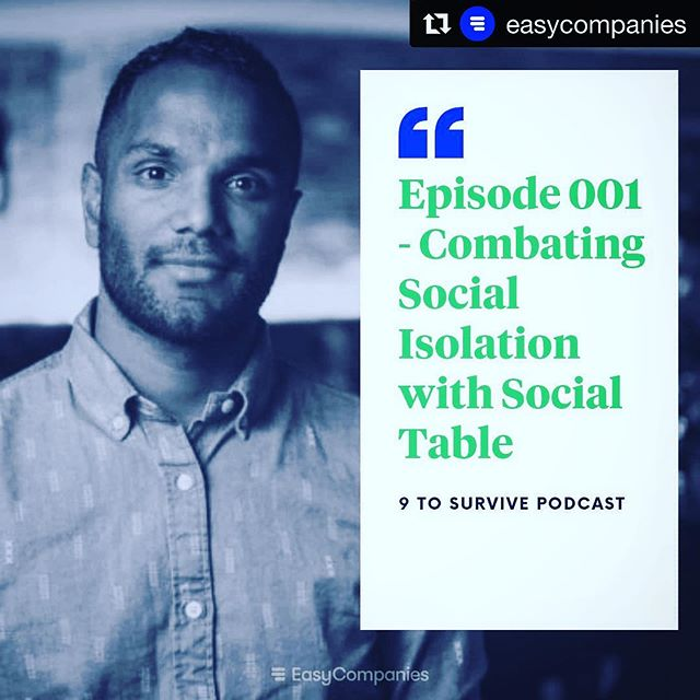 #Repost @easycompanies ・・・ Today we're launching our first episode of 9 To Survive with Ben Stokes from @socialtable.co  In this episode, Ben talks about the importance of SocialTable, his experiences as a first-time business owner and how it's helped him build resilience.  Listen to Ben's episode on your favourite podcast app: https://linktr.ee/easycompanies