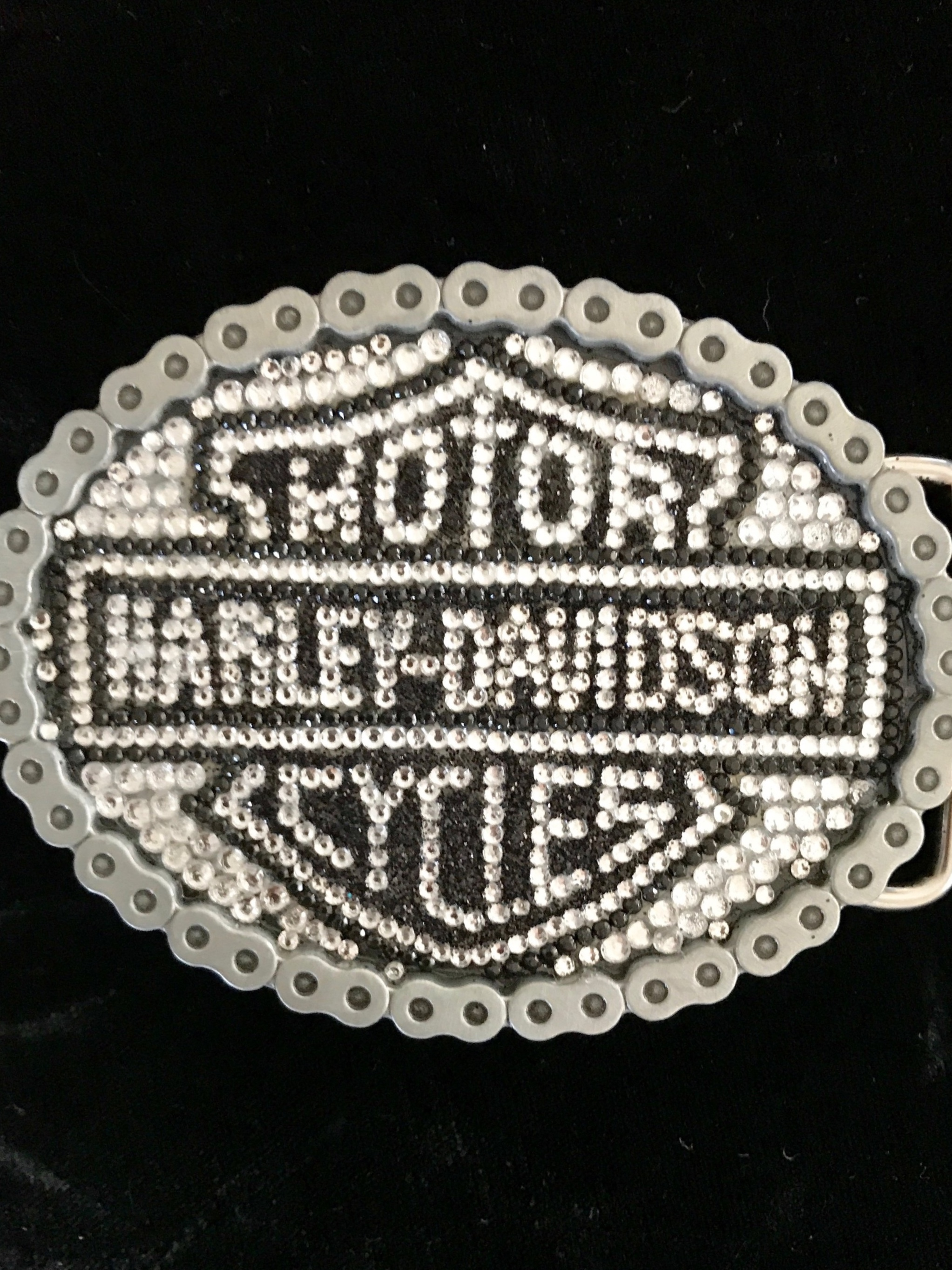 Custom Harley Davidson Belt Buckle