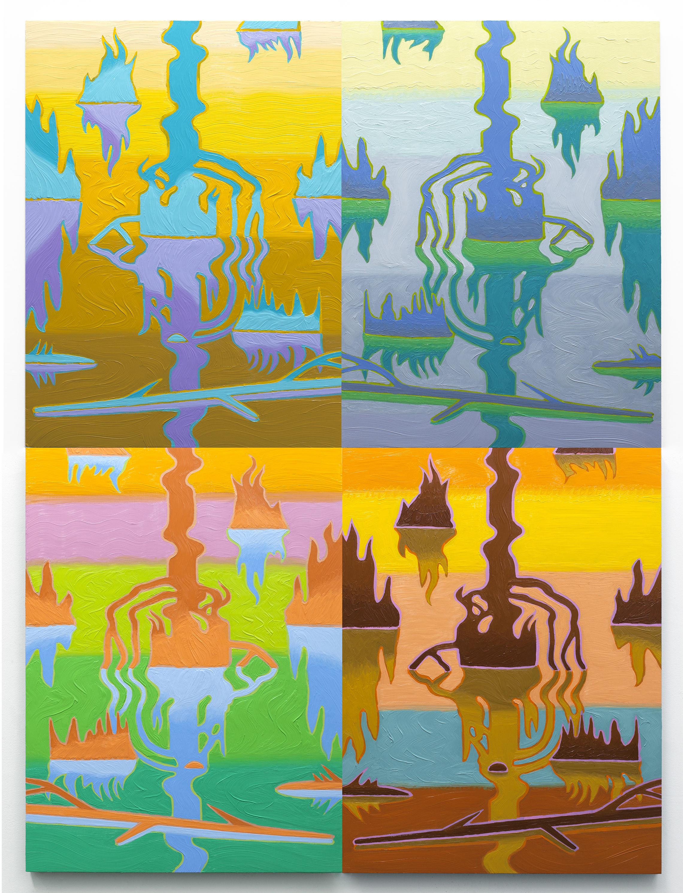 Swamp Shimmer, Arrangement 4