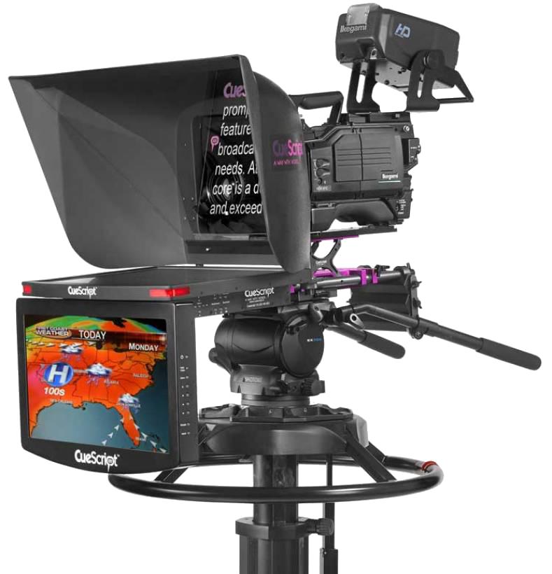 Cuescript On Camera Setup