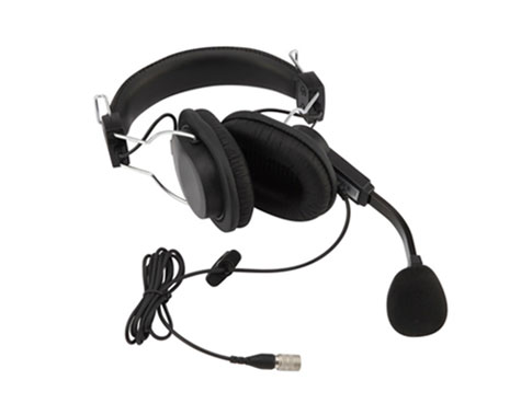 LSH-S125D - Lightweight, Dual Sided Muff Headset