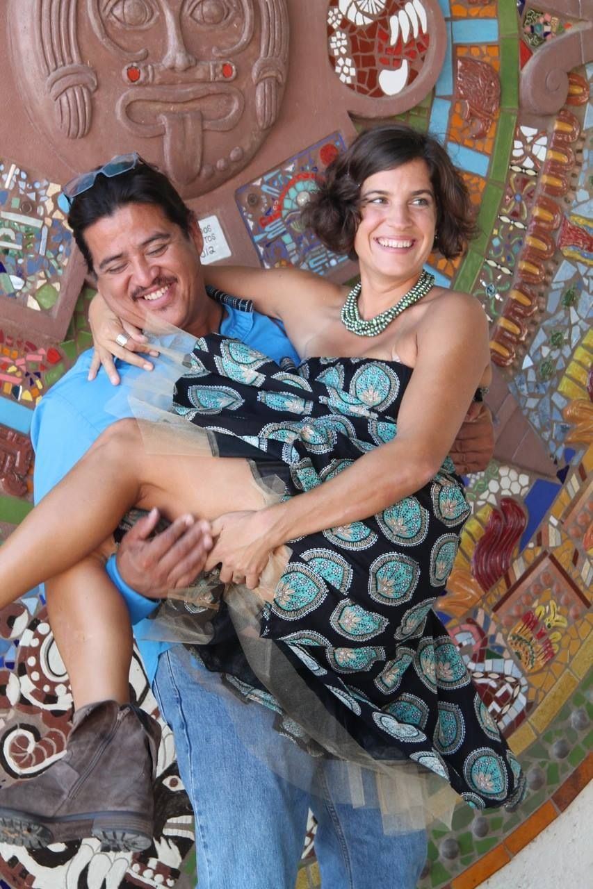 THE BACKSTORY - Noel and Rachel met in Zihuatanejo in 2012 at an Aztec sweat lodge and ended up in Todos Santos 7 months later quite by accident: they arrived searching for a new home and promptly ran out of money. But that sly fox, Fortune, was on their side. After surviving their first winter on beans, eggs, and selling artisania, they reconnected with Noel's heritage: mezcal. Two years passed of discovering and sharing artisanal mezcals and Noel's home–cooked meals with friends and visitors, until the fare became too good, the groups too large, and Rachel's patience for cleaning the tiny kitchen stretched too thin. Hence was born the idea of El Refugio. With their usual intuitional methods, they opened their doors not knowing what would happen, only aiming to recreate the very atmosphere that had evolved around their home dining room table. And in that they succeeded...to the degree that the kitchen was once again too small, and a change of location required.In November, 2017 they reopened in a larger space across from Parque los Pinos, with extended hours and a newborn babe in arms. Now in their third season, they're offering cooking classes, more mezcal tastings, and working on a cookbook under contract with Skyhorse Publishing.