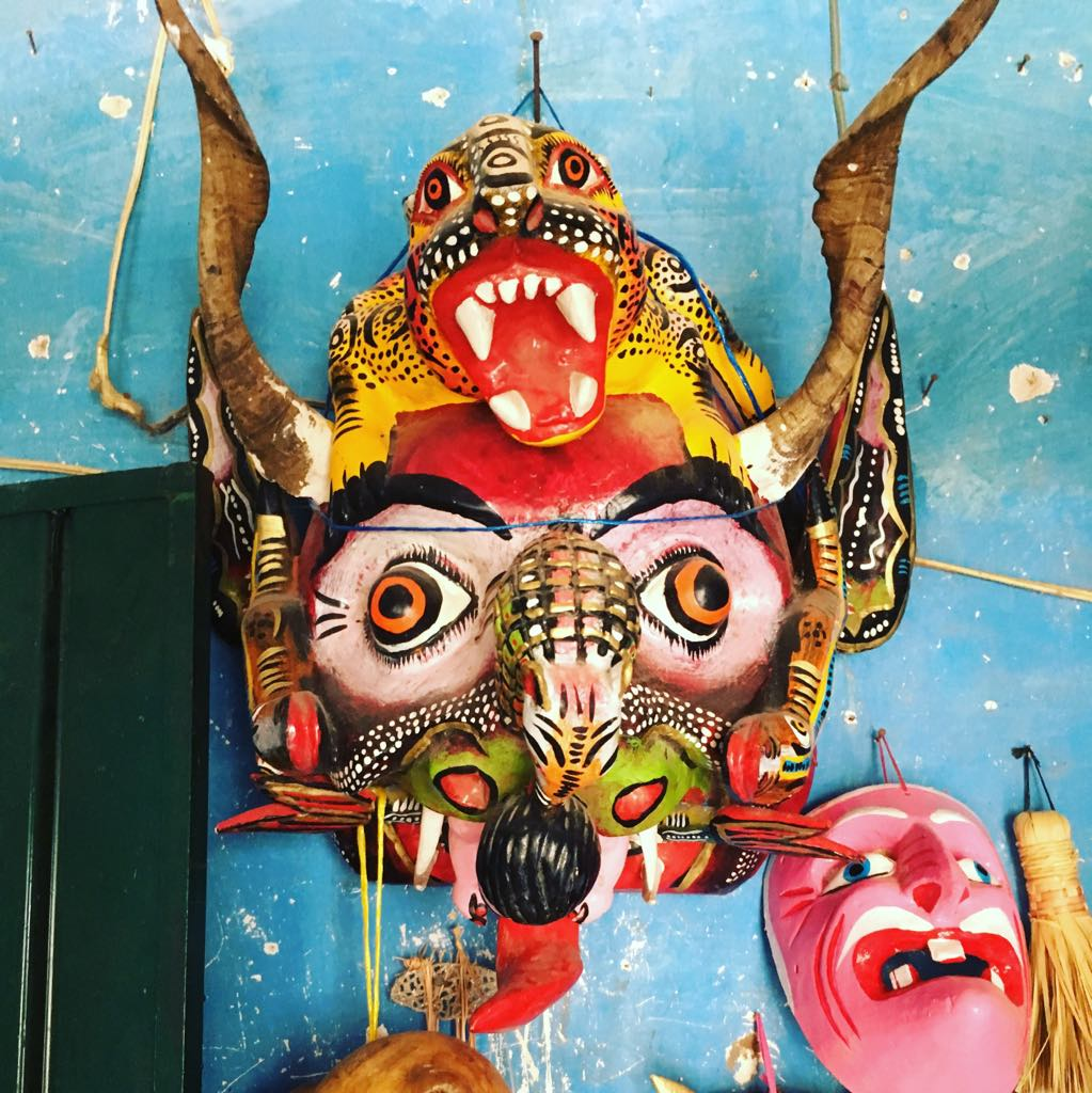 Large Multi-Character Mask - $650