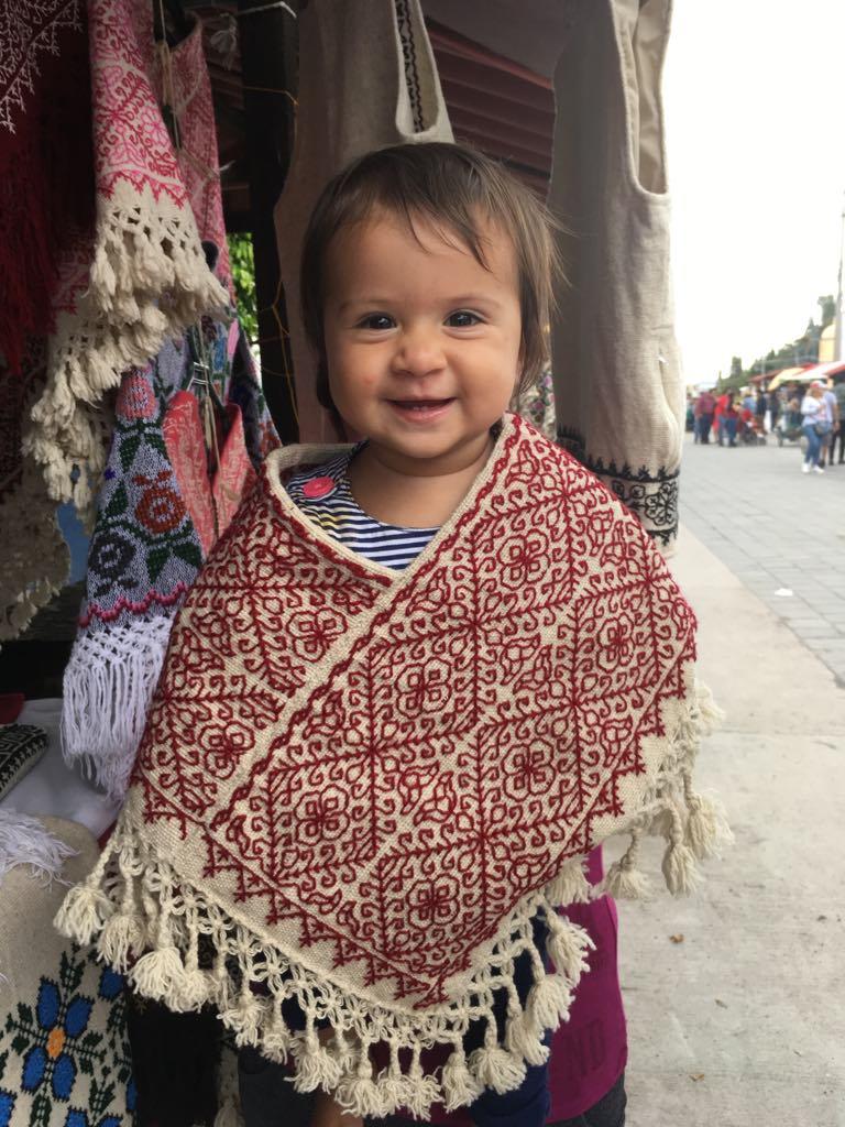 Baby (+ Kids) Quexquemetl - $40