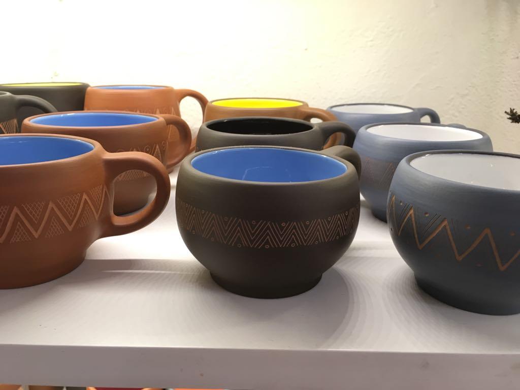 Handmade Coffee Cups - $30