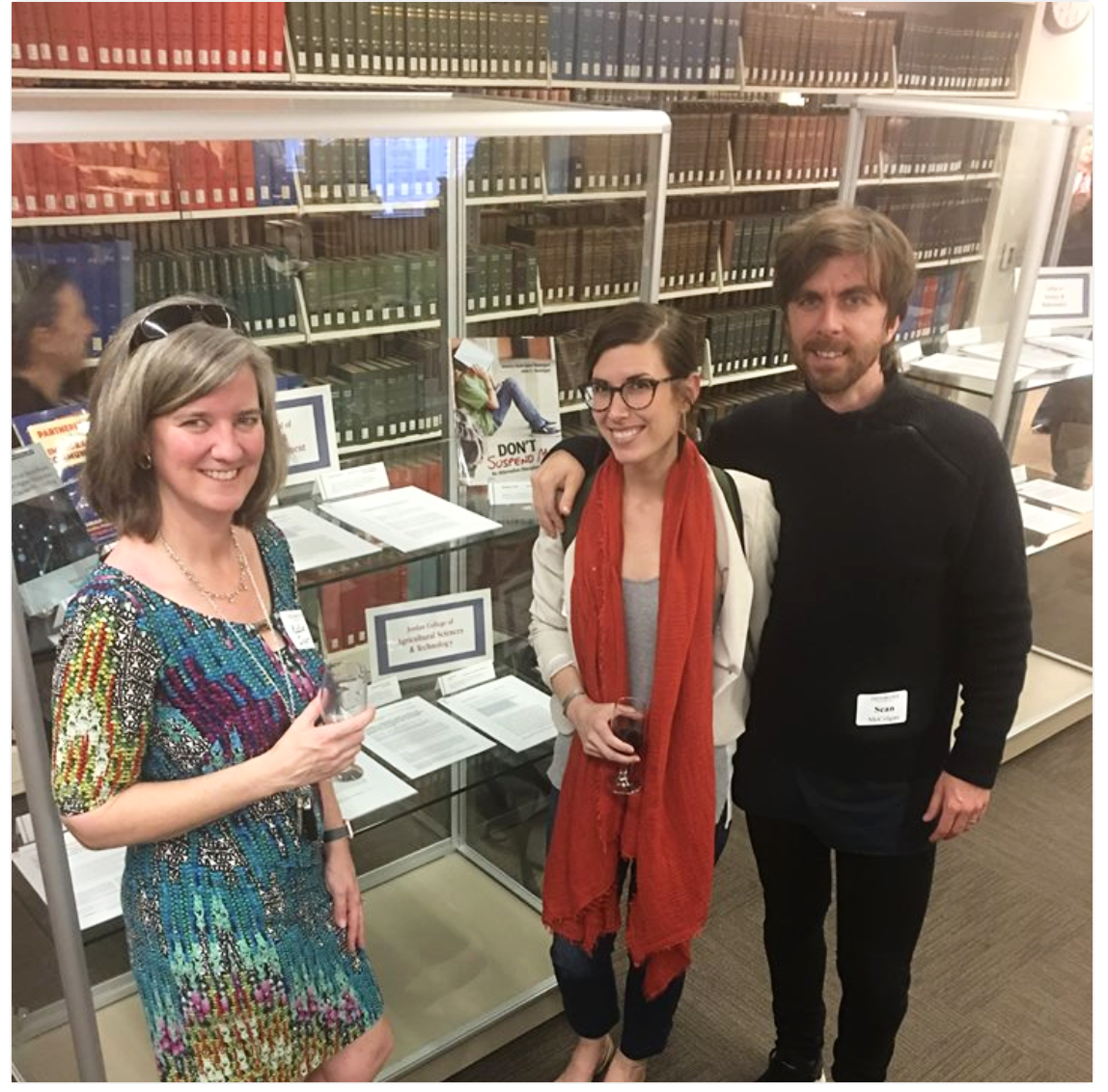 L-R: Dr. Katie Dyer, Dr. Jessica McKenzie, & Sean McColgan