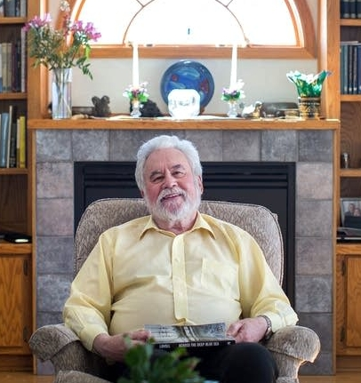 Odd Lovoll photographed in his Northfield home,by Minnesota Public Radio,2015.   Jennifer Simonson, MPR News https://www.mprnews.org/story/2015/04/08/odd-lovoll