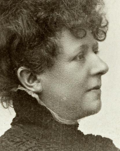 Portrait of Randi Blehr, NKF President