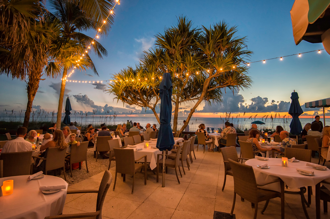 HB's on the Gulf, our signature restaurant, is also Naples' only beachfront restaurant. HB's serves breathtaking views, fresh regional seafood and mouth-watering specials for lunch and dinner daily - indoors and al fresco. It is truly one of the finest of all Naples restaurants.
