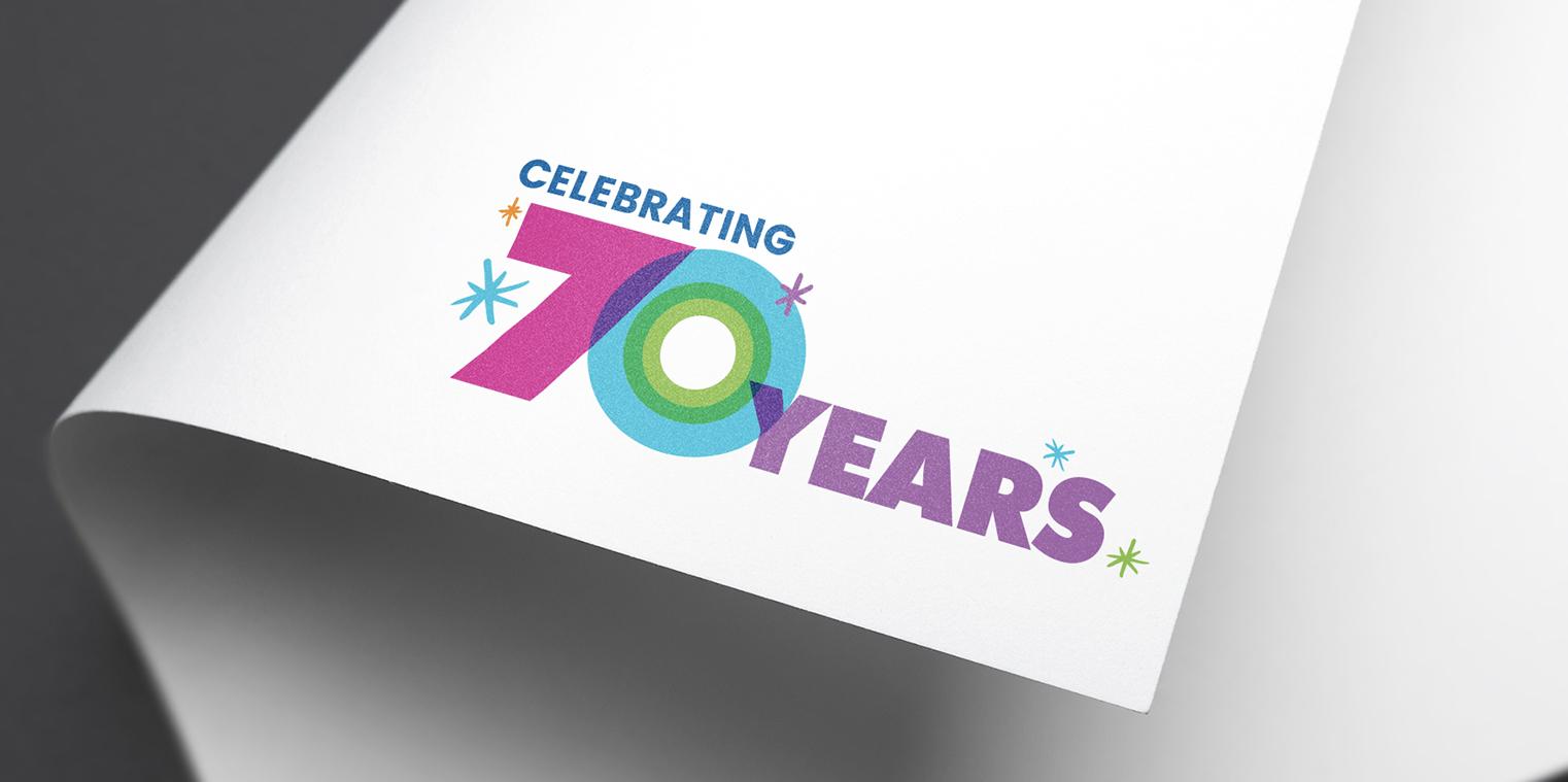 Sylvanvale - 70 year logo