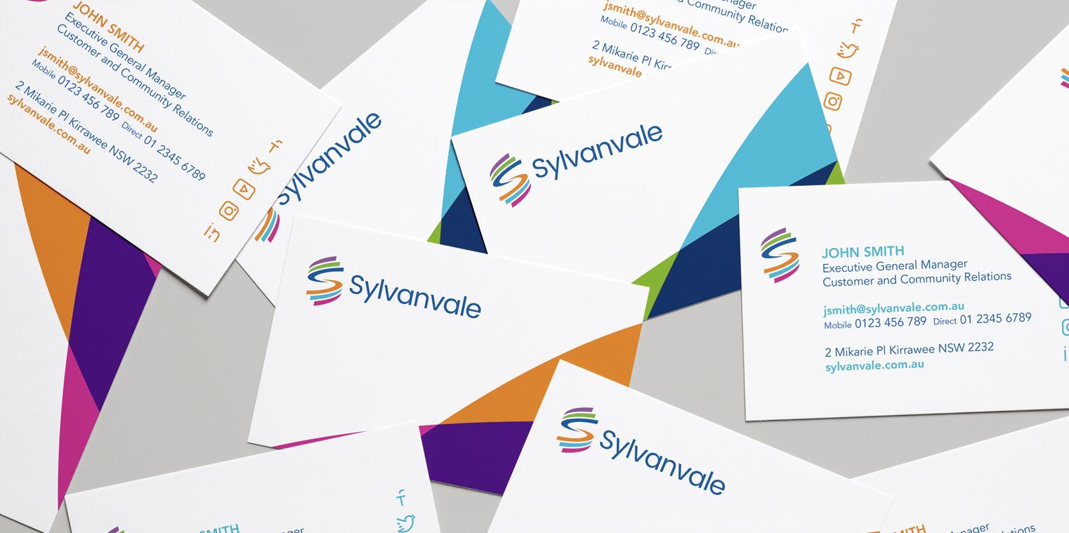 Sylvanvale - business cards