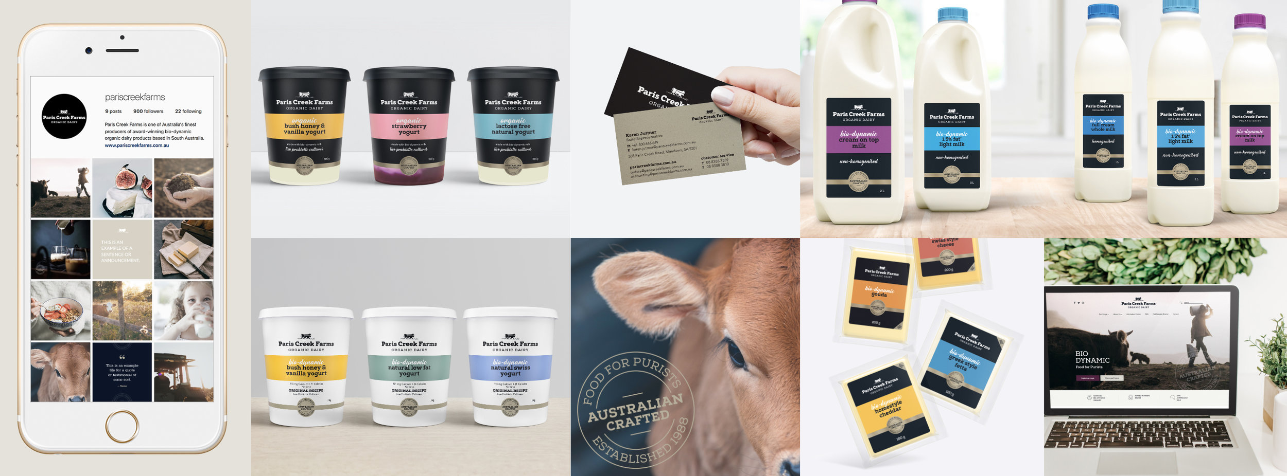 Paris Creek Farms Rebrand