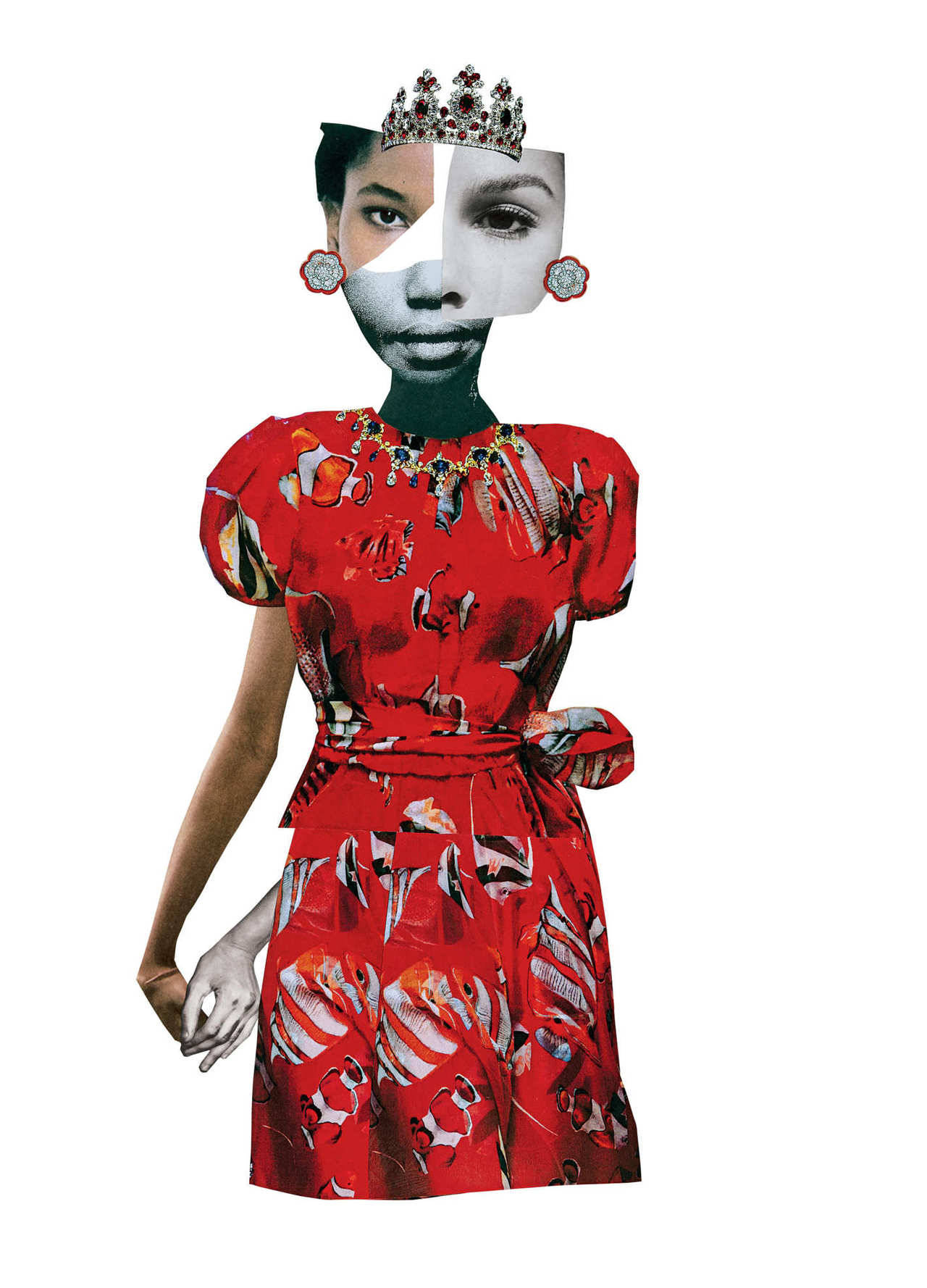 The brilliance of  Deborah Roberts .