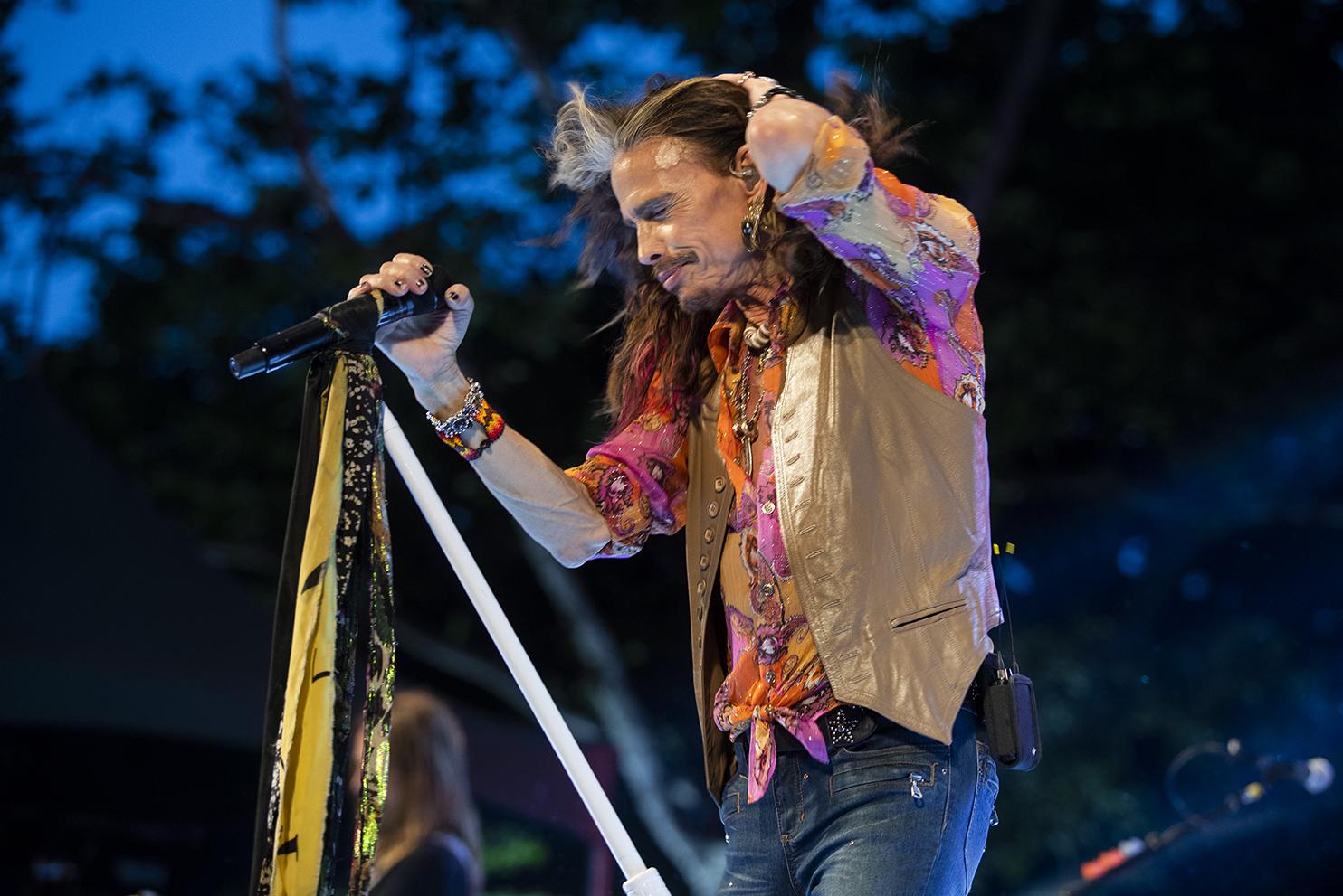 Steven Tyler. Aerosmith