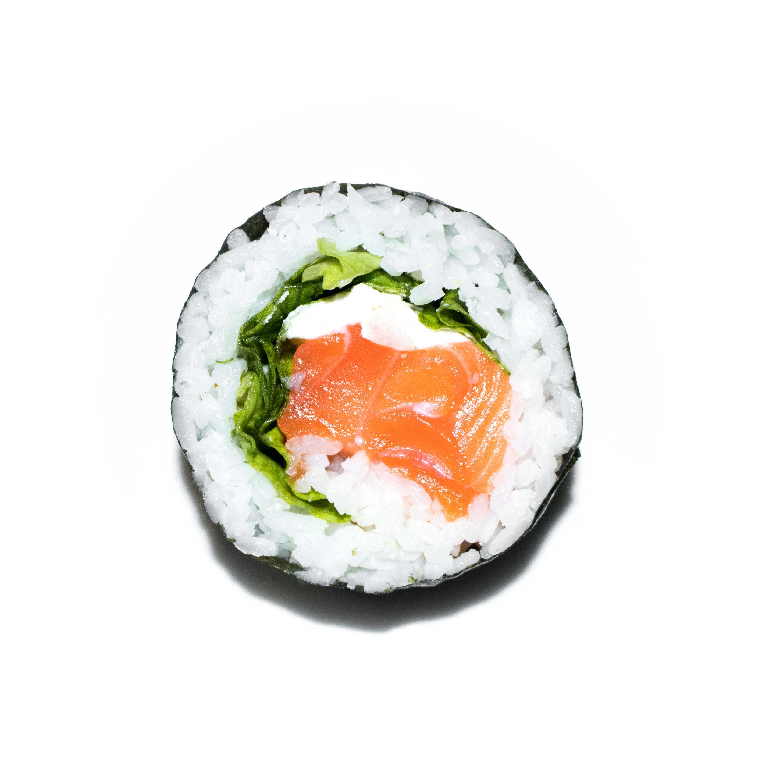salmon cream cheese maki