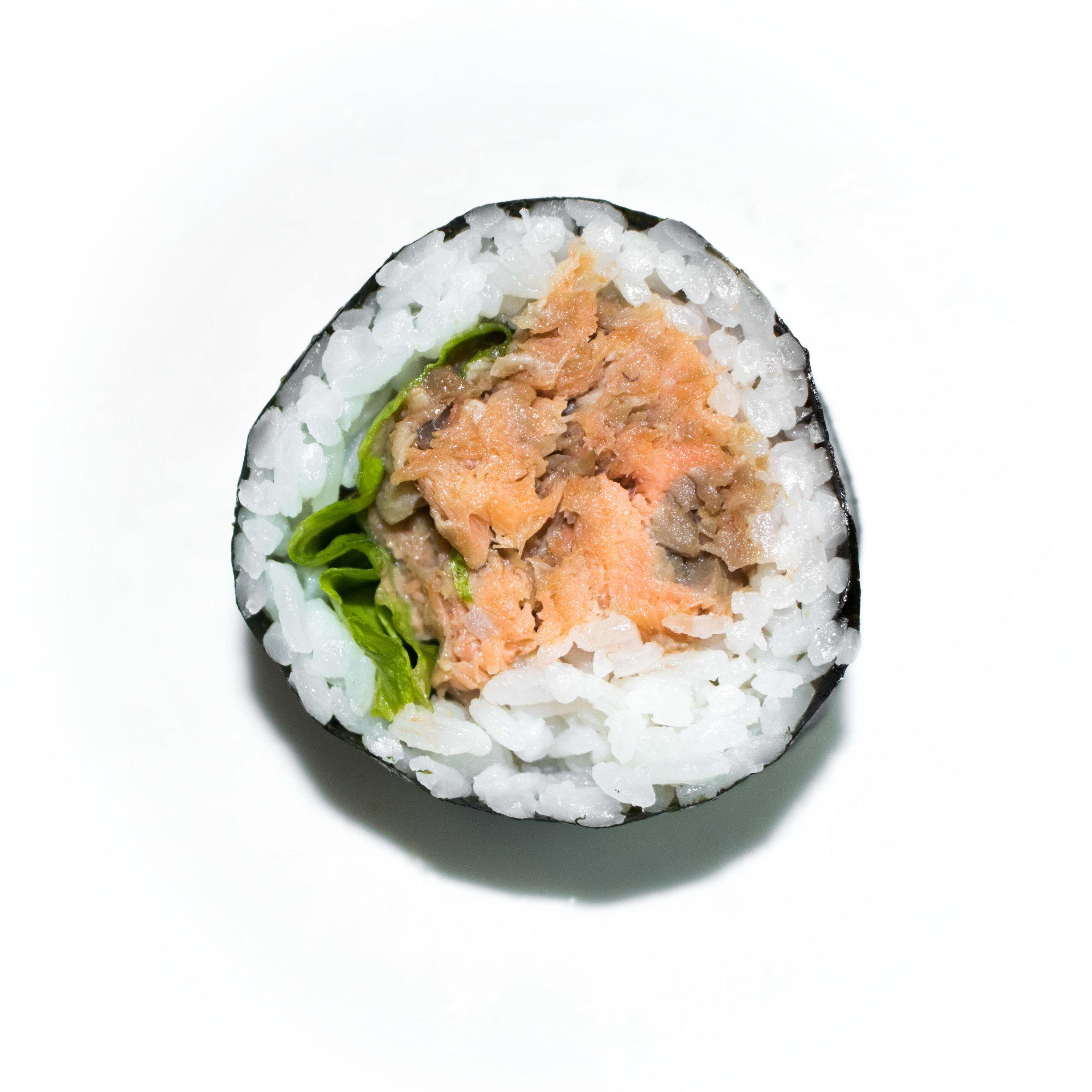 teriyaki salmon maki