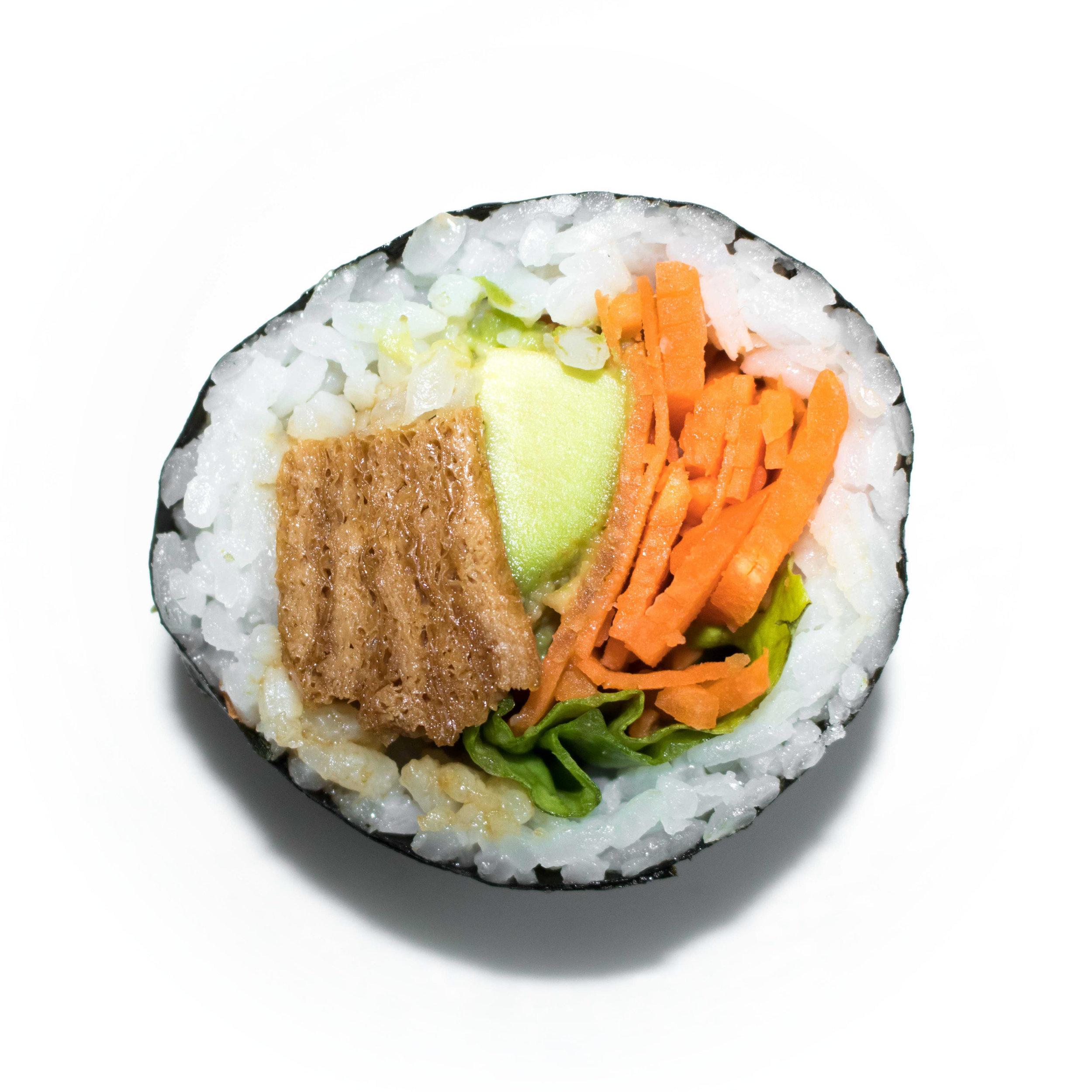 inari mixed vege maki