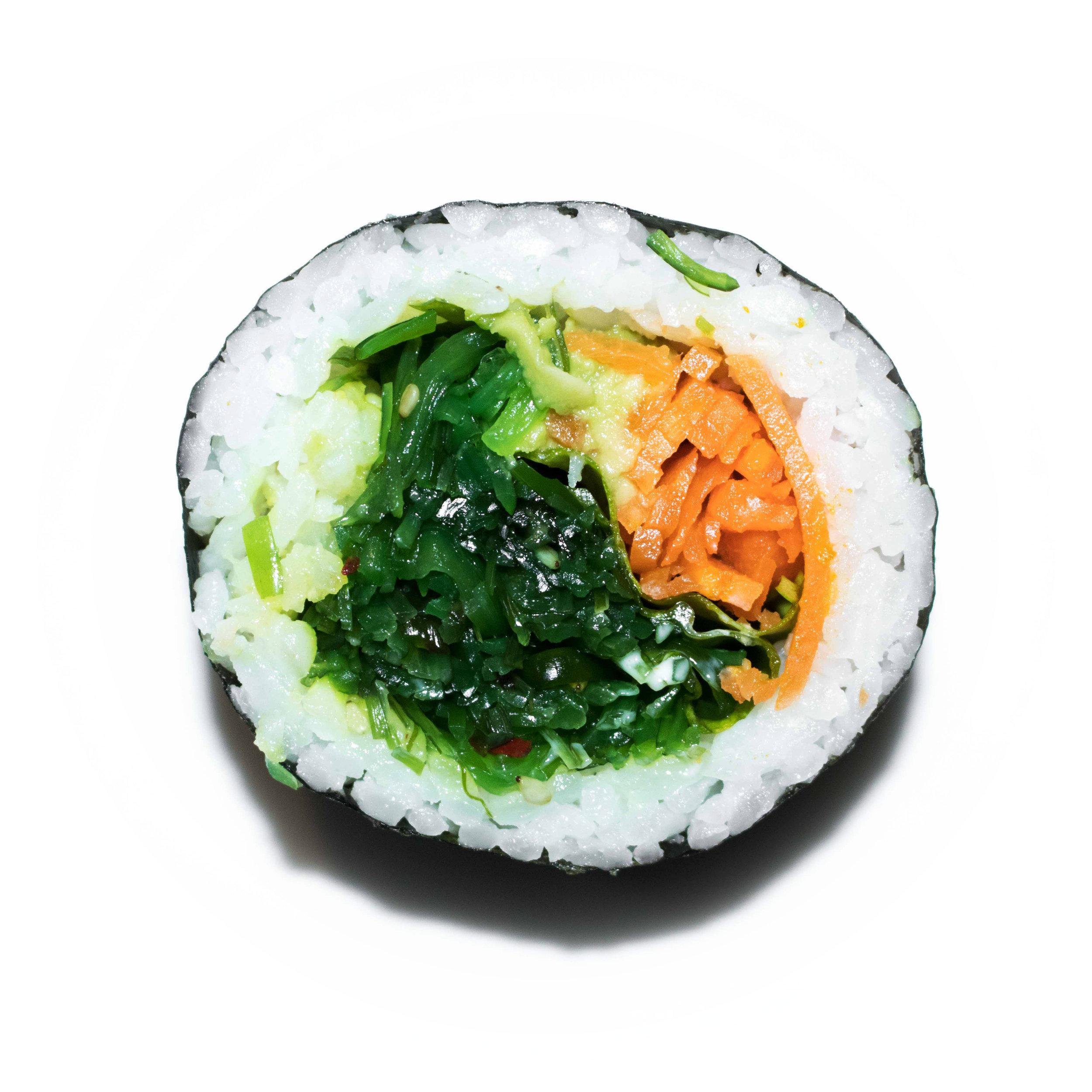 japanese seaweed salad maki