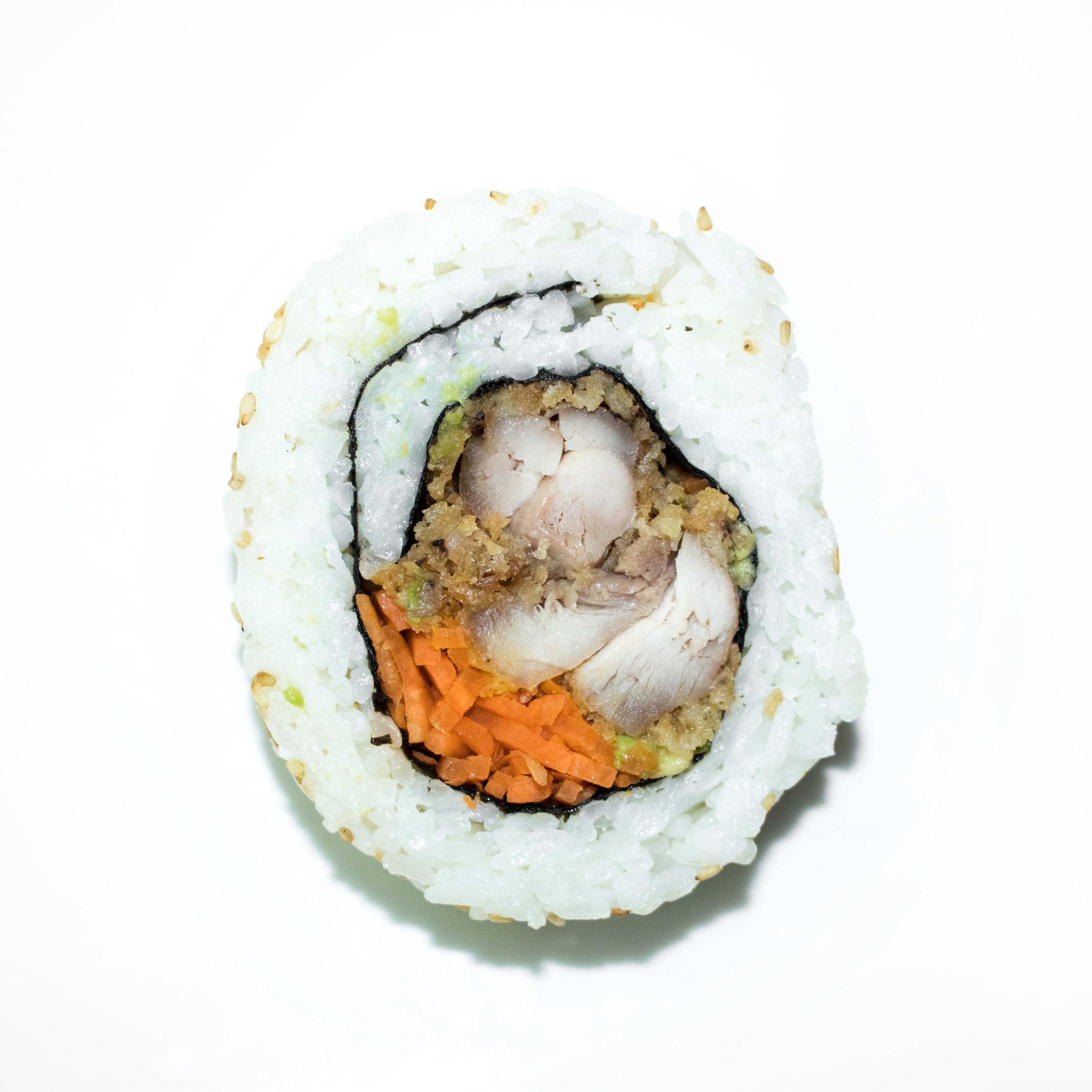 crispy chicken uramaki