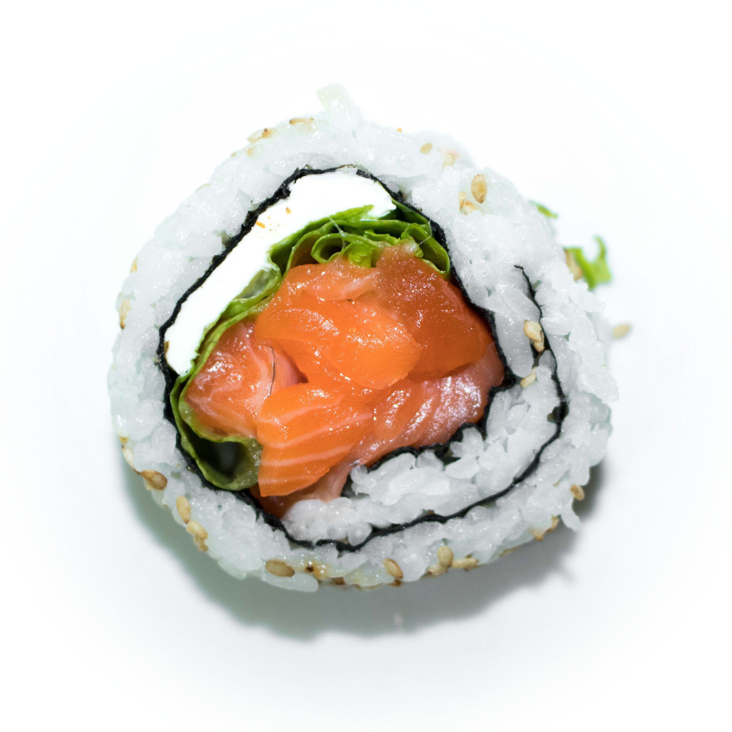 salmon cream cheese uramaki
