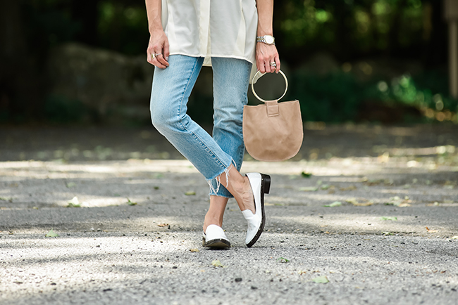 DIY Round Leather Bag