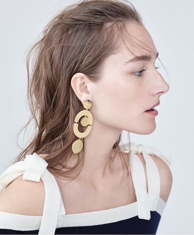J. Crew Geo Earrings