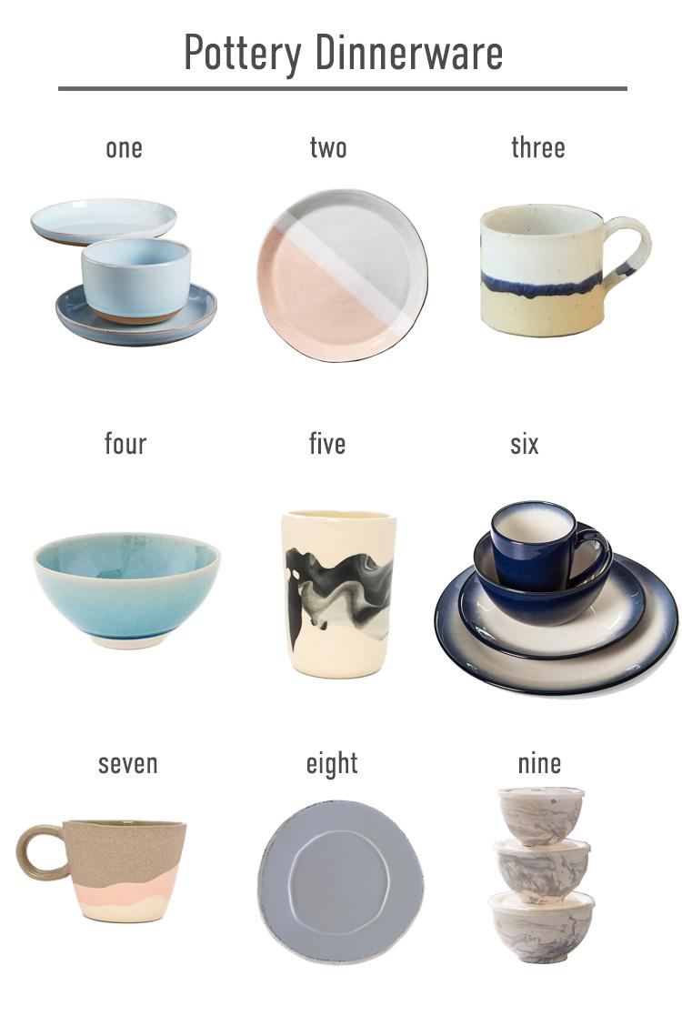 Pottery Dinnerware