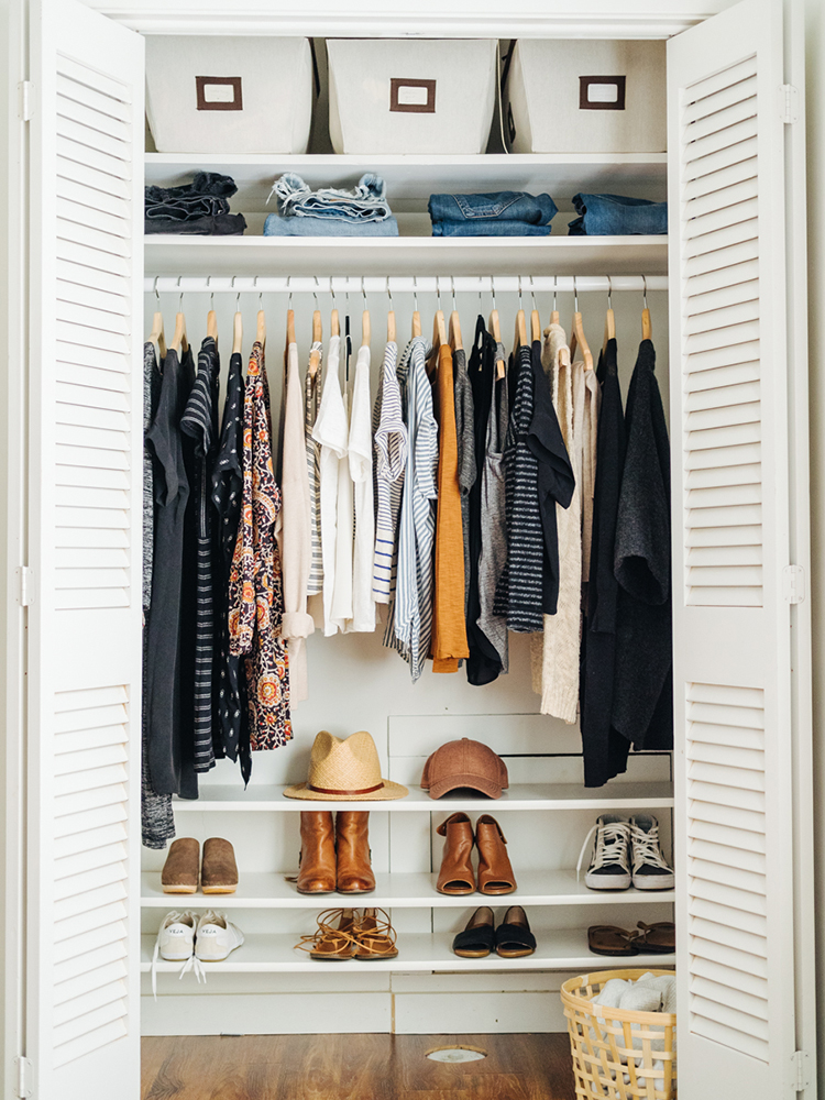 How to do a closet overhaul