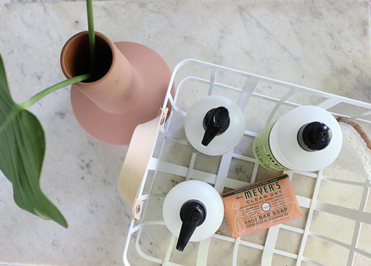DIY Custom modern storage basket