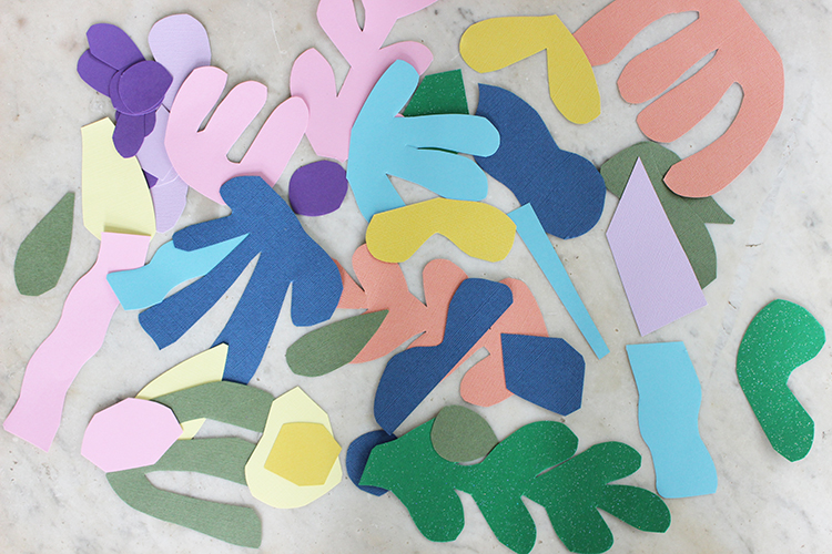 Matisse Inspired Kids Art Project