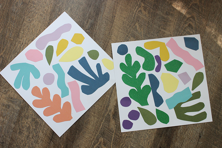 DIY Matisse Inspired Kids Art