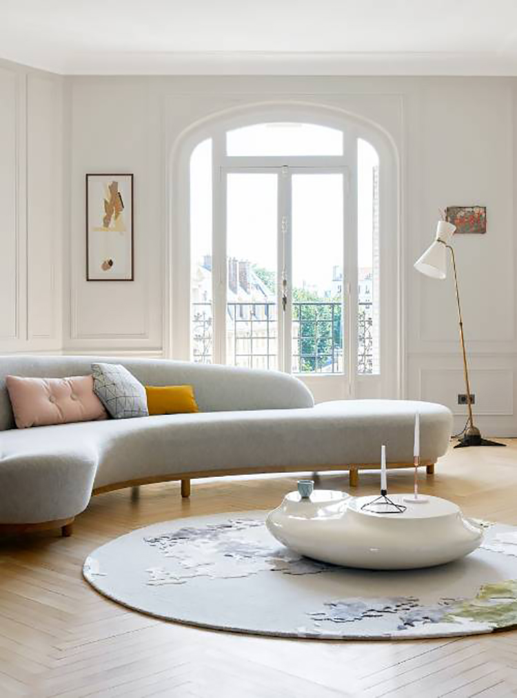 Trend Alert: Curved Sofa