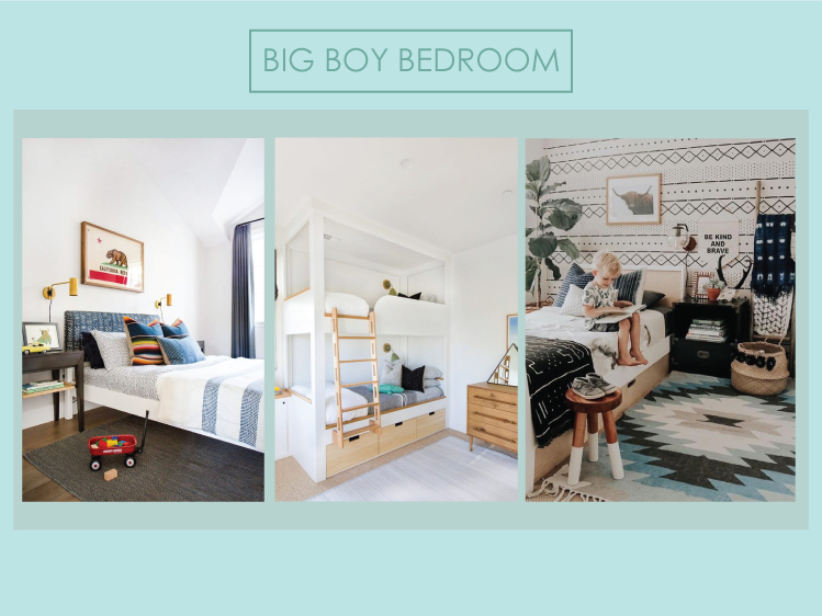 Big Boy Bedroom Inspiration