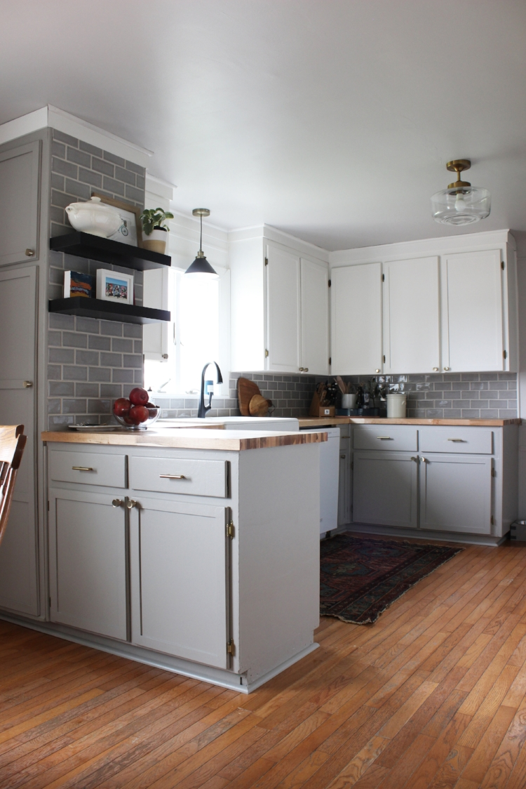 One Room Challenge Kitchen Makeover Reveal
