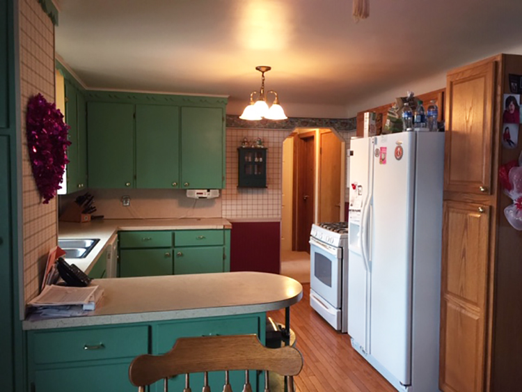 One Room Challenge Kitchen Before