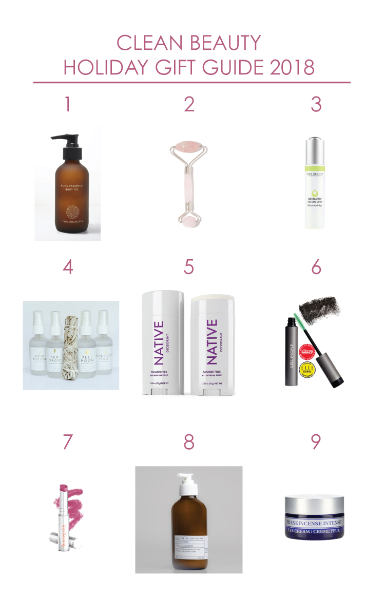 Clean Beauty Holiday Gift Guide