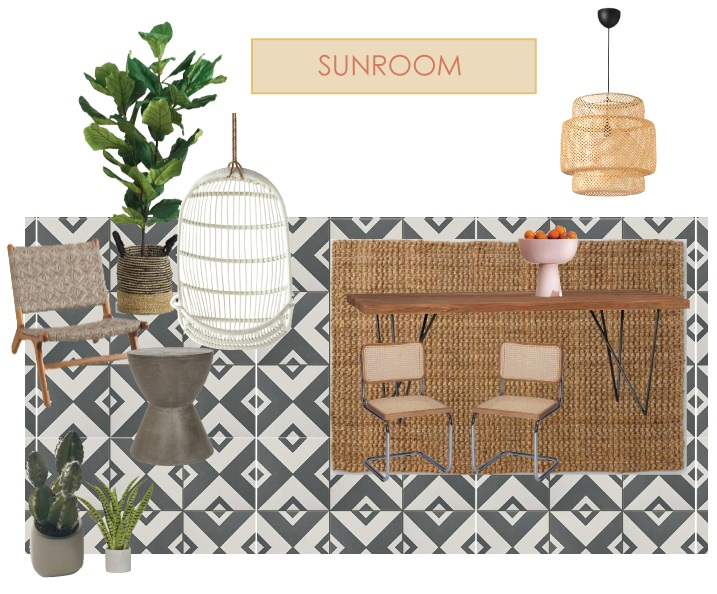 One Room Challenge Sunroom Plans
